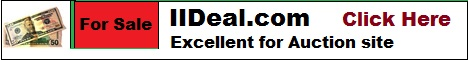 iideal.com domain name banner